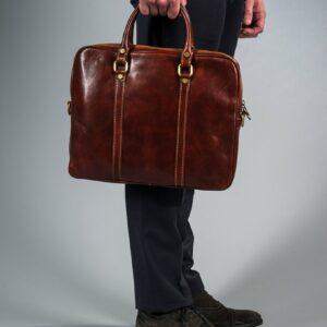 läderväska brun