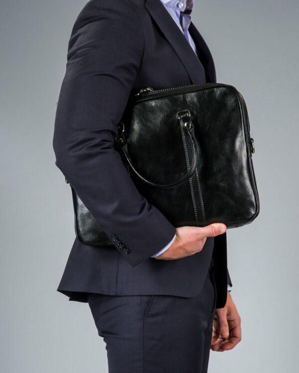 Maschio franschesco läderväska svart